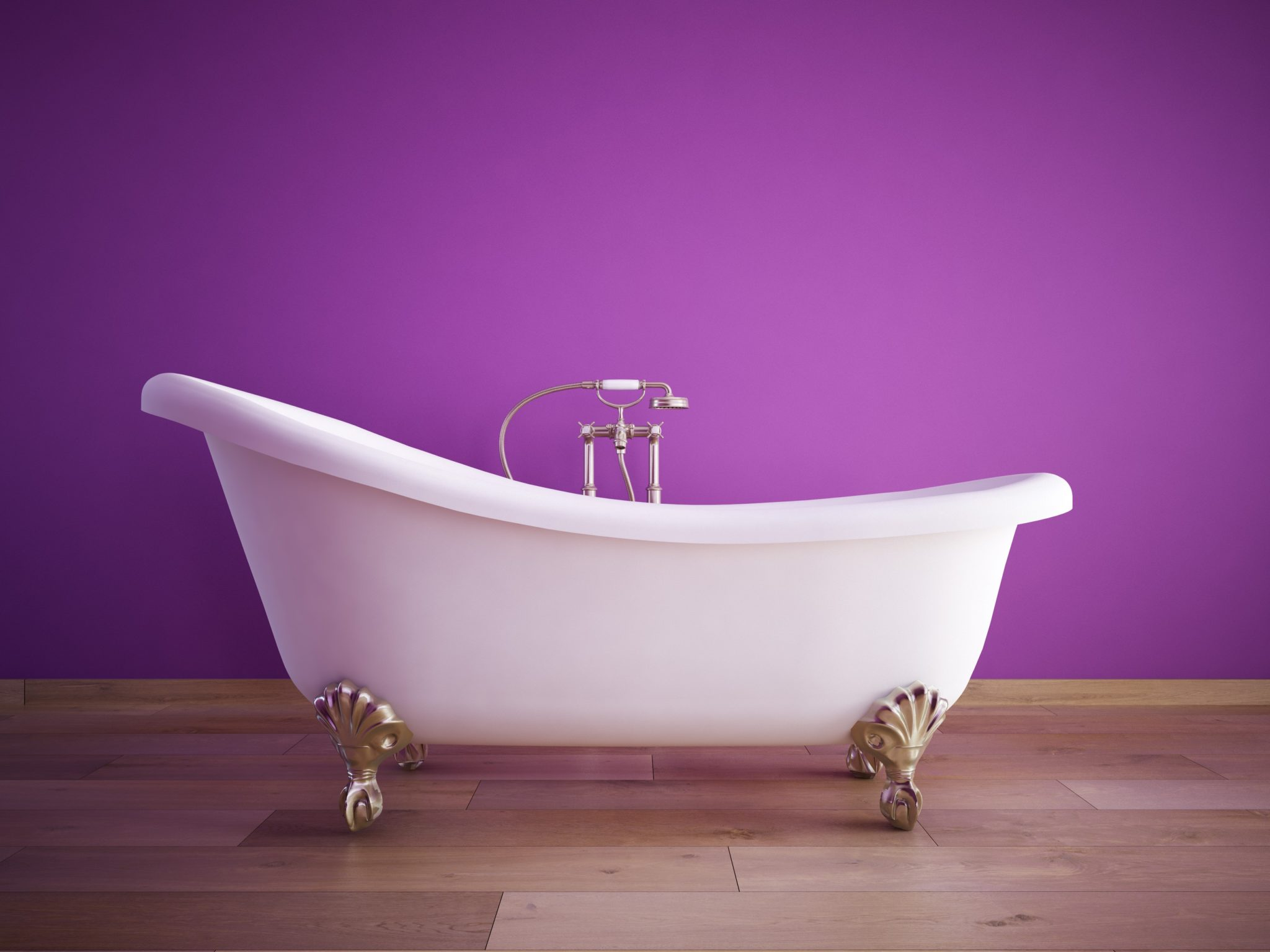 bathtub, paint