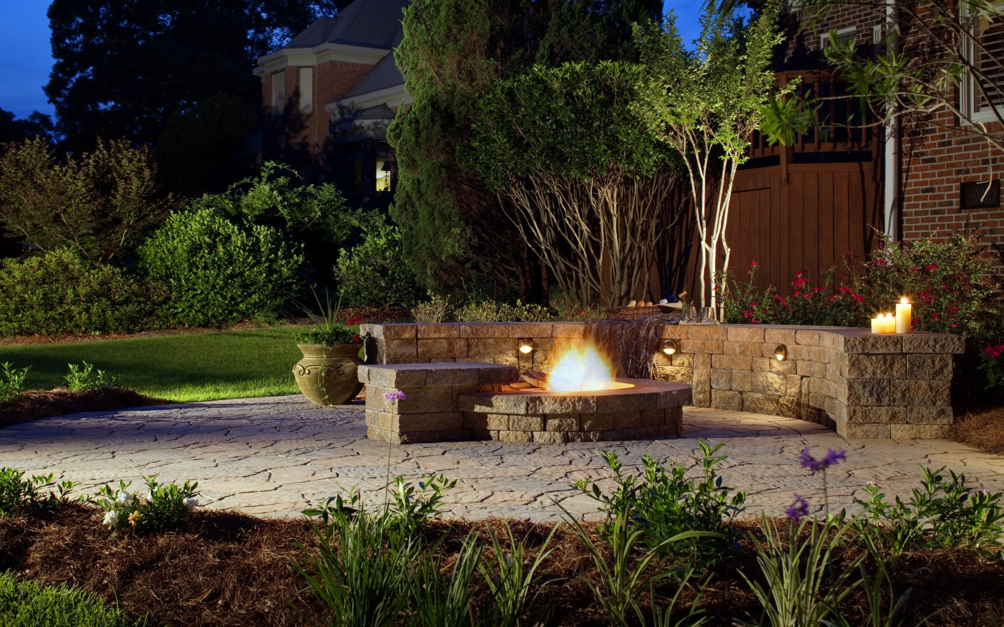 gas vs wood fire pit