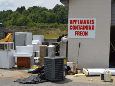 Air Conditioner, Recycling, Freon