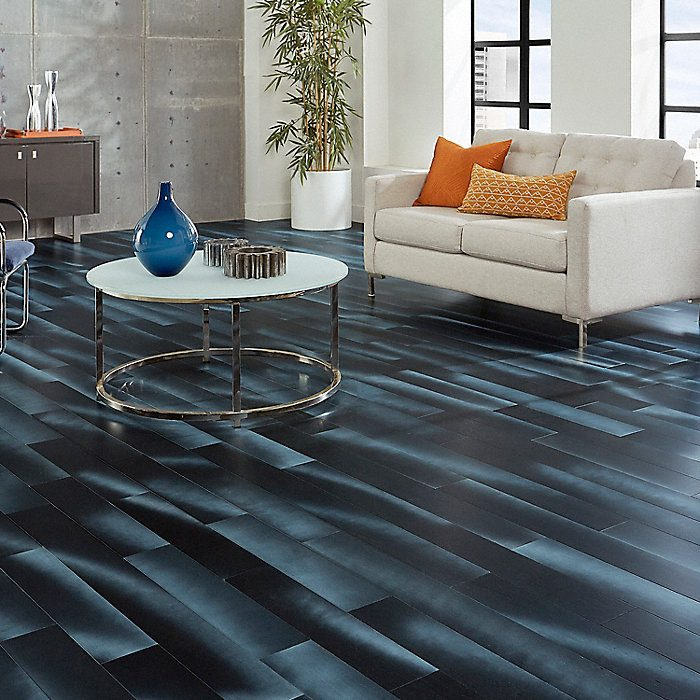 On Trend Blue Tone Flooring Brings A Natural Feel To Your Home The