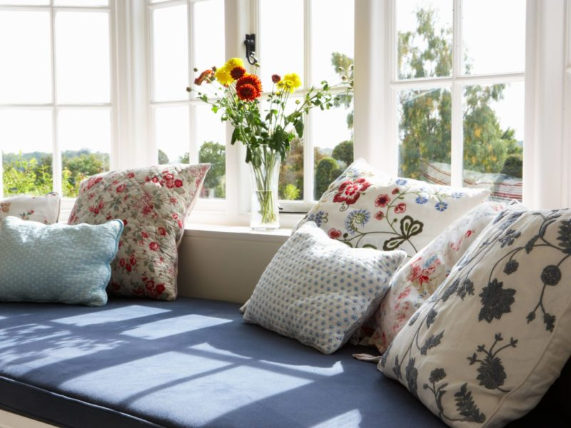 how to build a window seat, windows