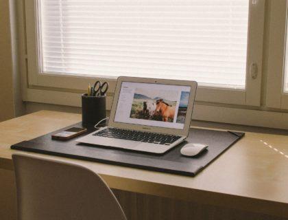 Window and Desk