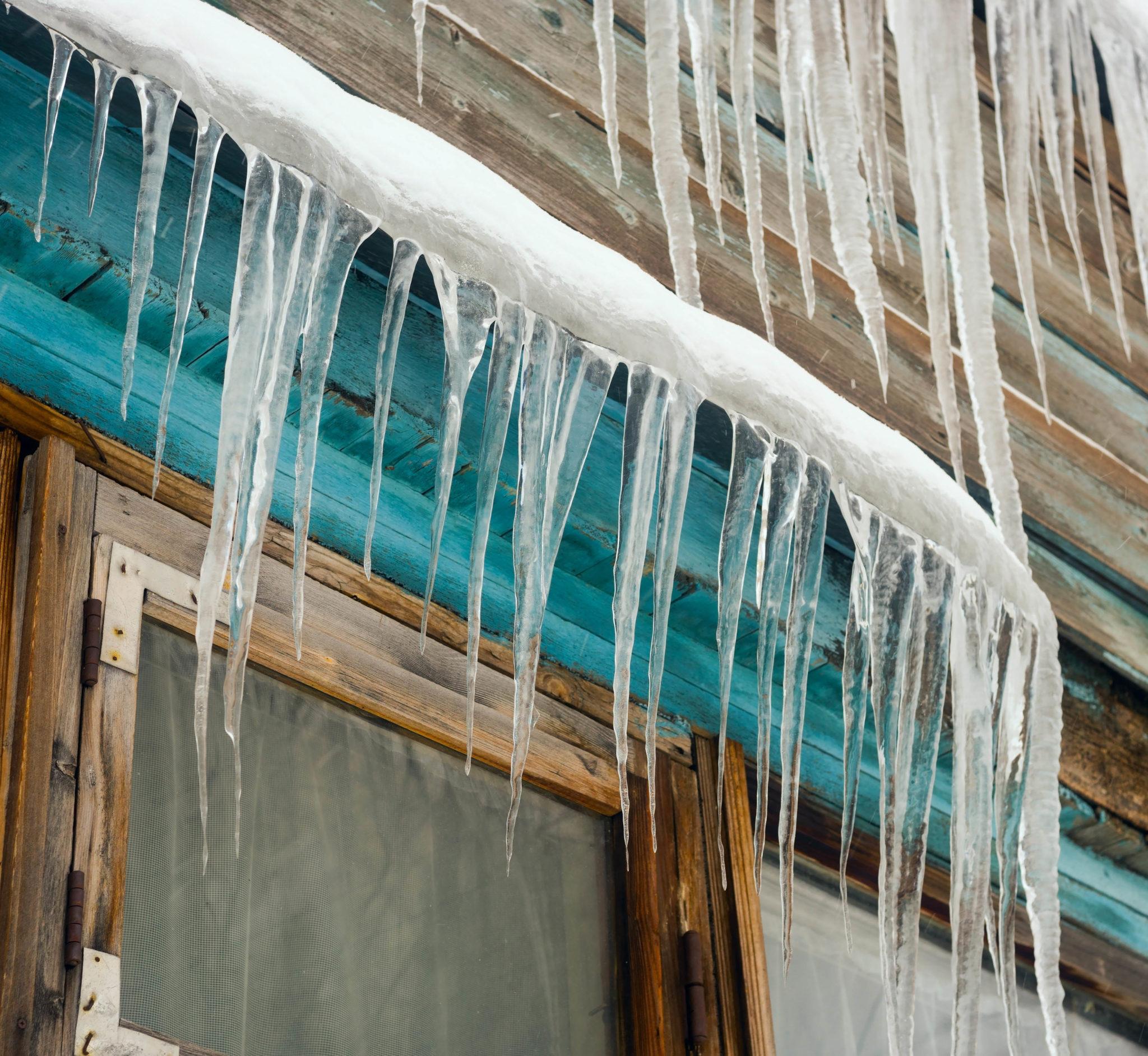 winter, ice