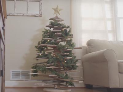 christmas tree, video