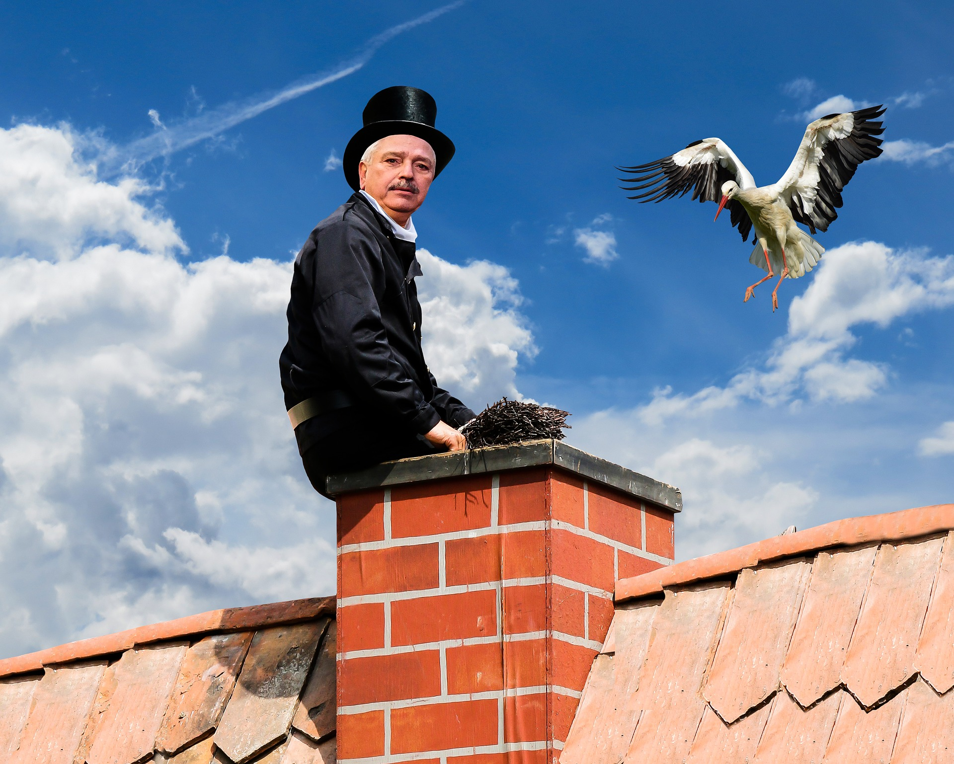 chimney cleaning, chimney sweep