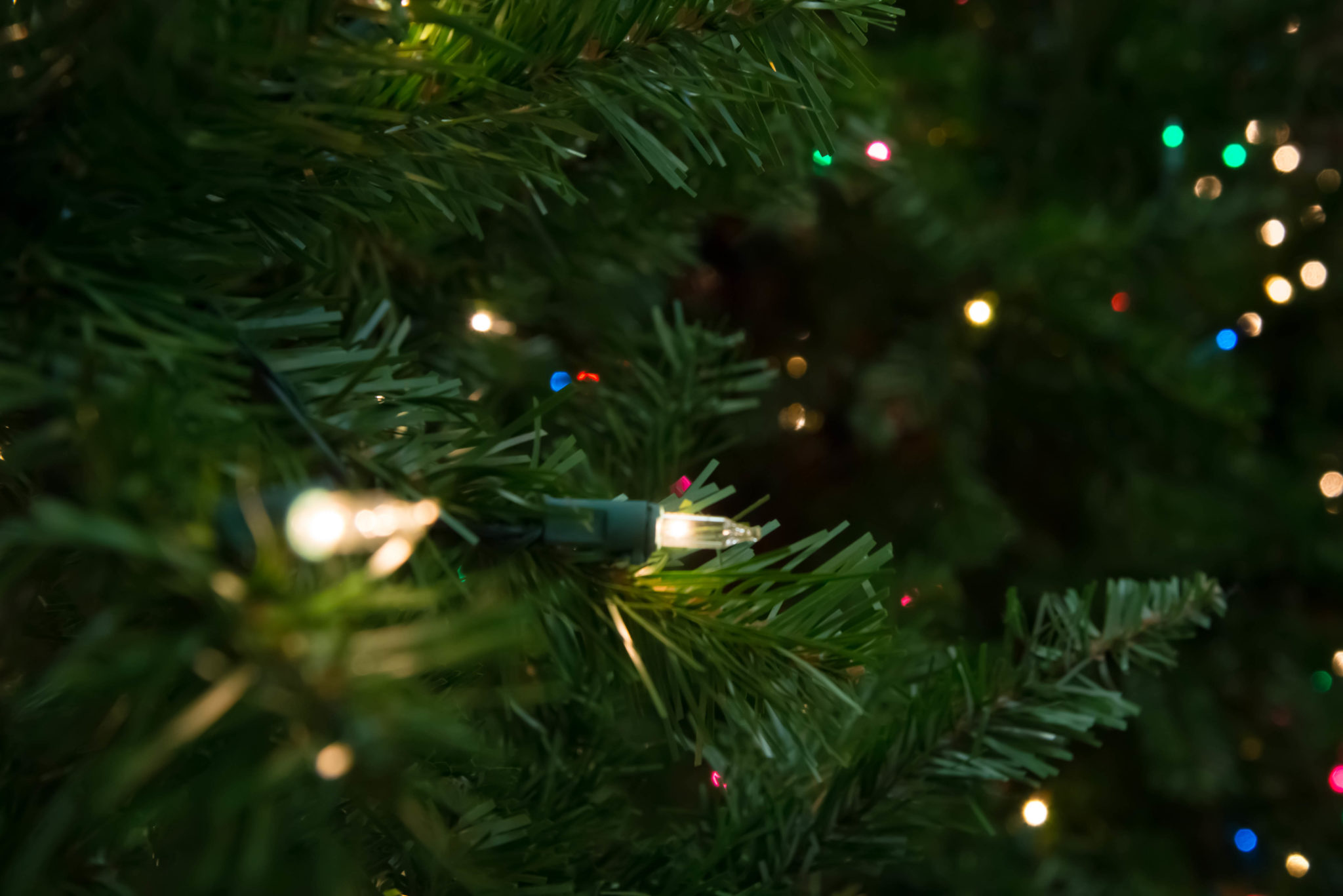 How To String Lights On Artificial Christmas Tree : Artificial Christmas Trees: 5 Tips for Buying the Best The Money Pit