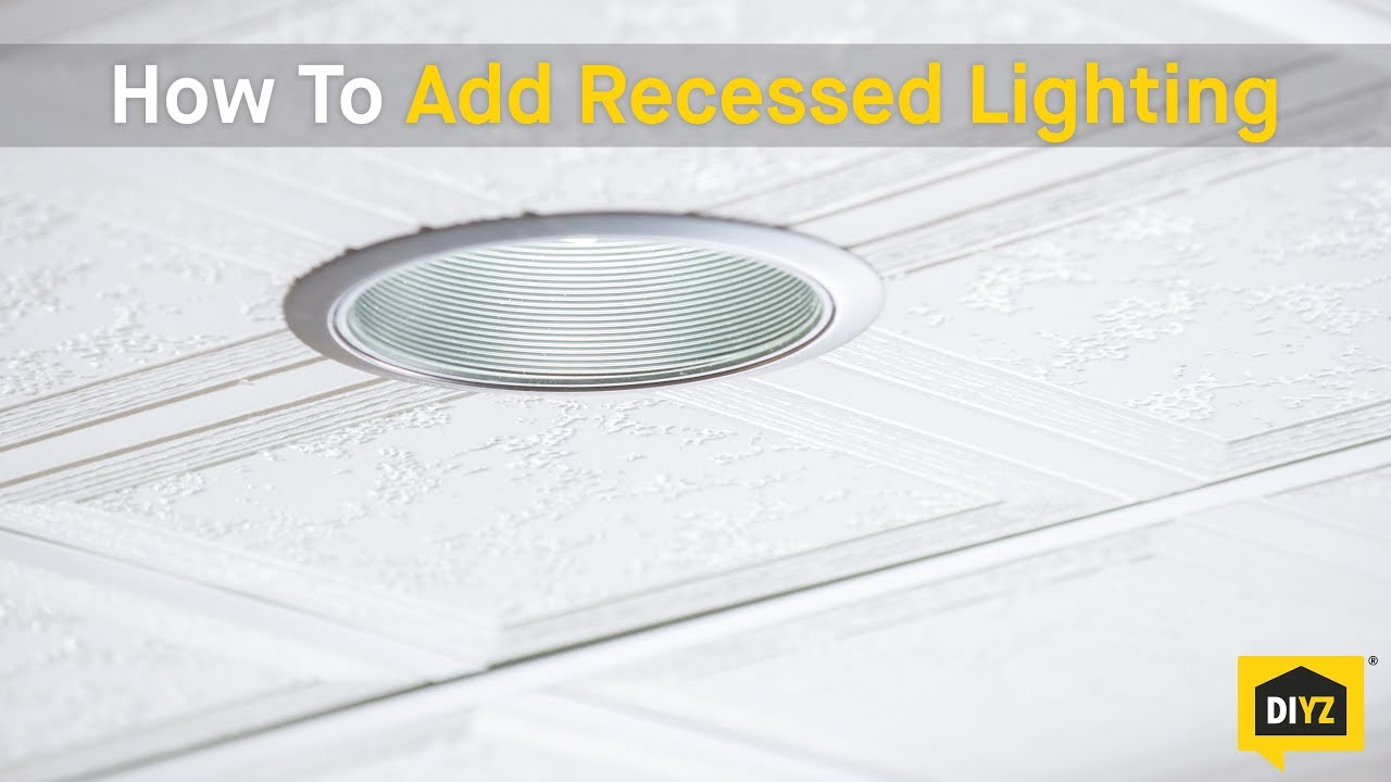 How To Add Recessed Lighting | The Money Pit