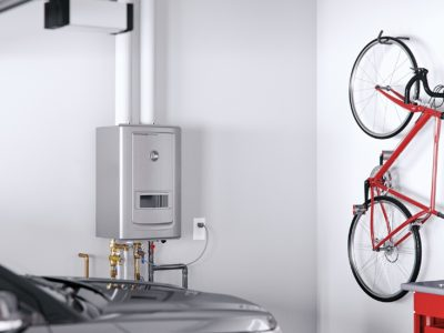 tankless water heating system