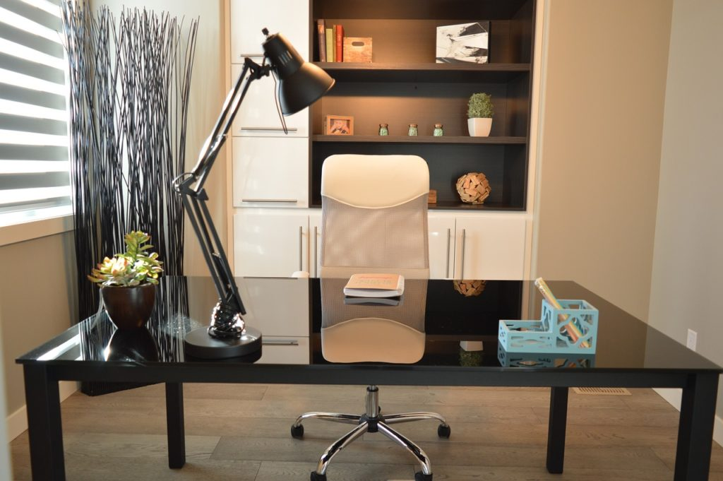 home office design, small home office