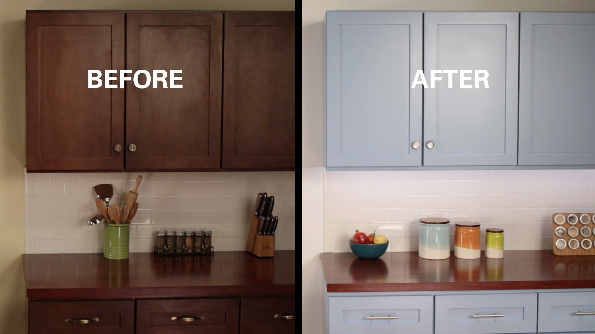 How To Reface Formica Kitchen Cabinets Yourself | Dandk ...