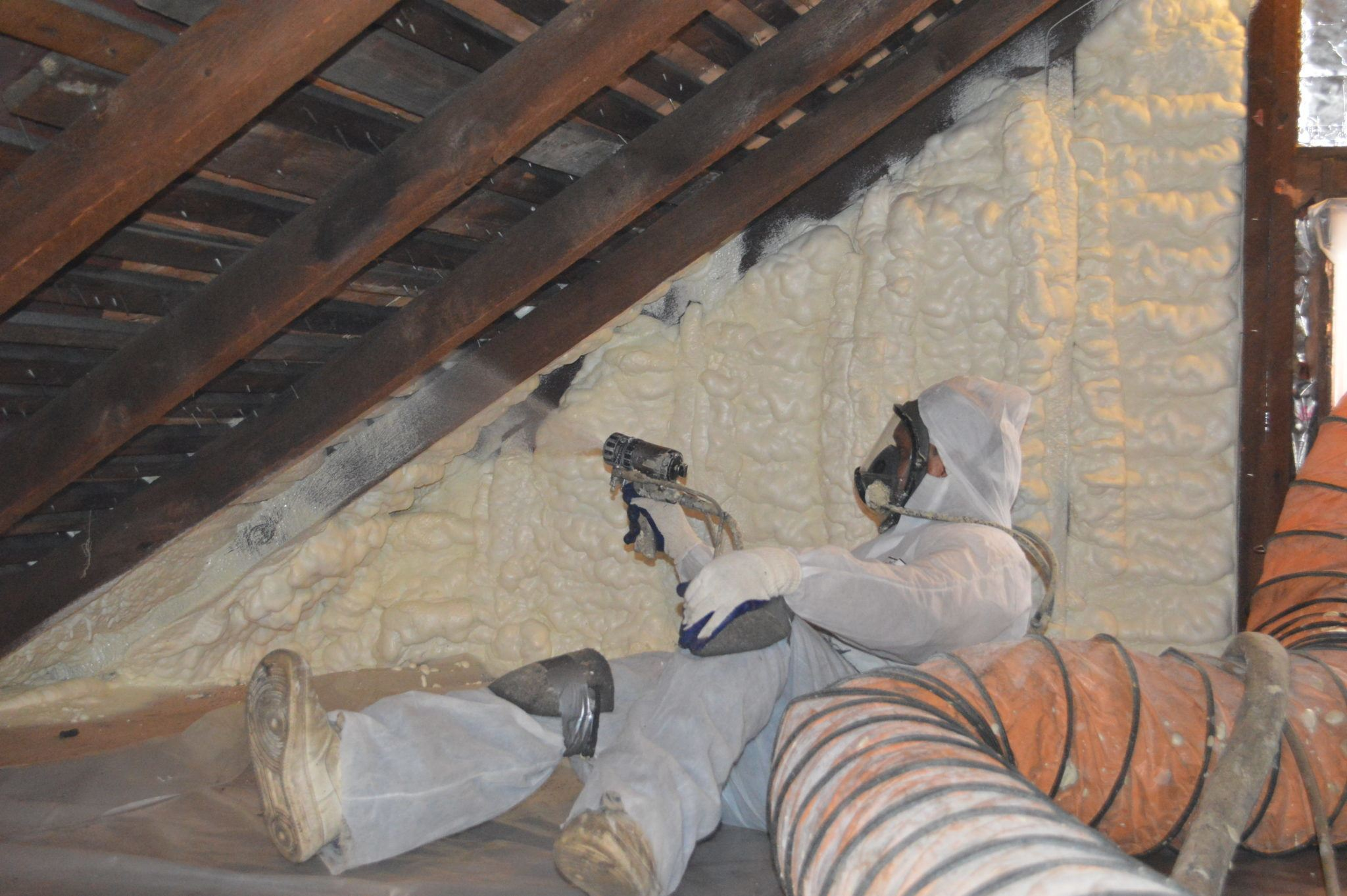 Icynene Spray Foam Insulation