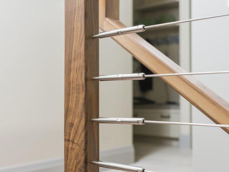 stairway, stair & railing