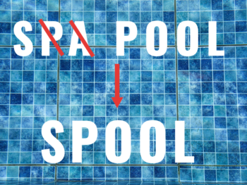 How a spa pool becomes a spool