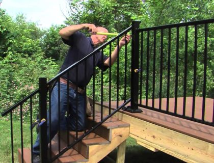 cutting handrails