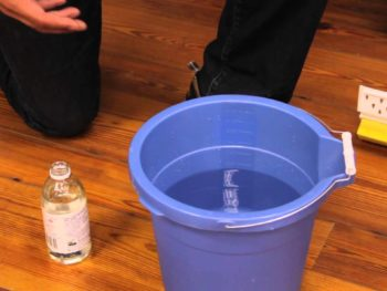 safe cleaning products for old hardwood floors