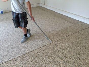 epoxy garage floor repair
