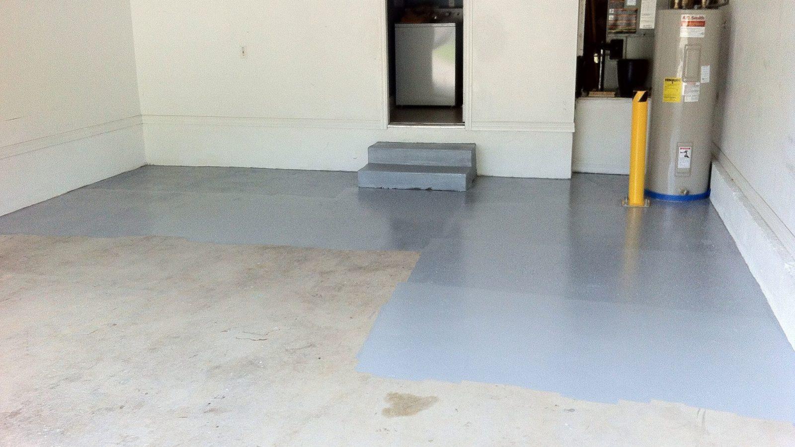 slope garage floor