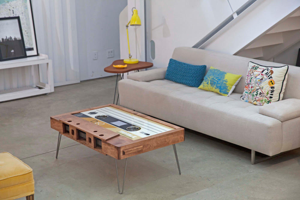 mix tape coffee table