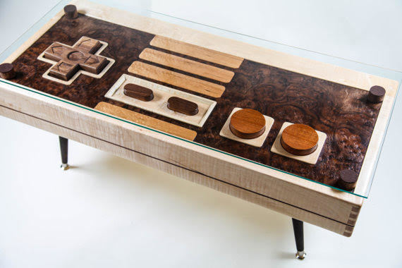 nintendo coffee table