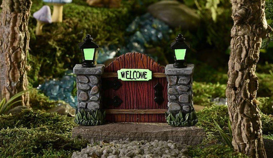 enchanted garden, fairy garden