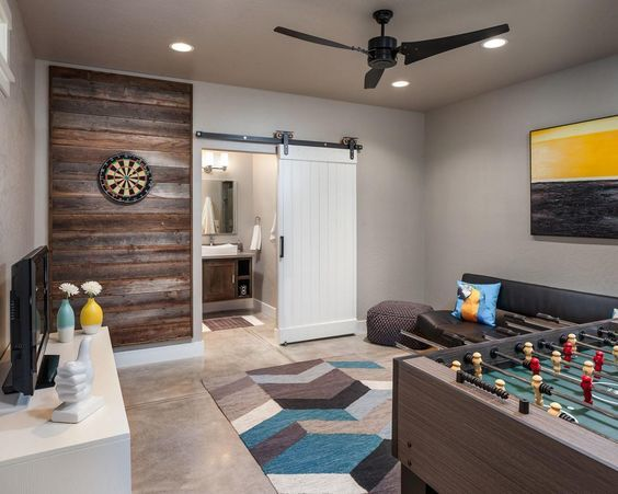 3 Key Design Tips For A Beautiful Basement Game Room The Money Pit