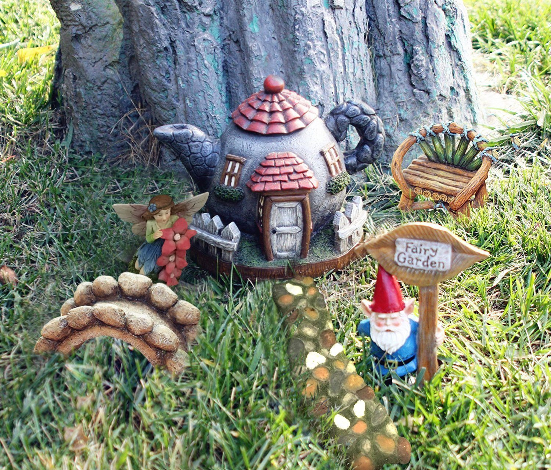 garden gnome, fairy garden, enchanted garden