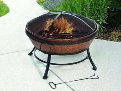 DeckMate Avondale Steel Fire Bowl