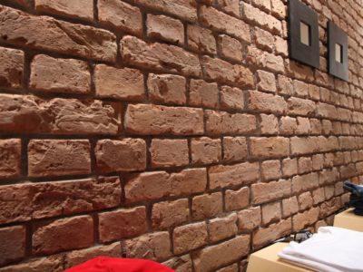 Imitation brick