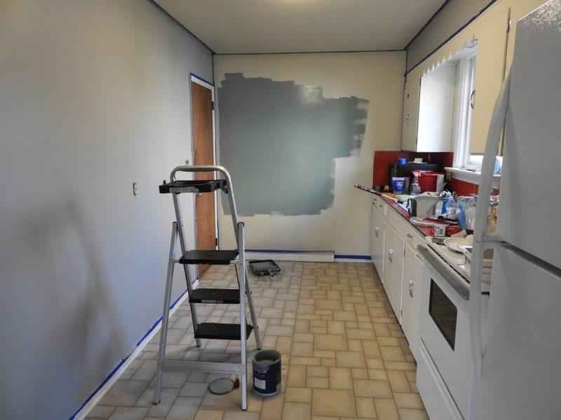 Renovating a small kitchen