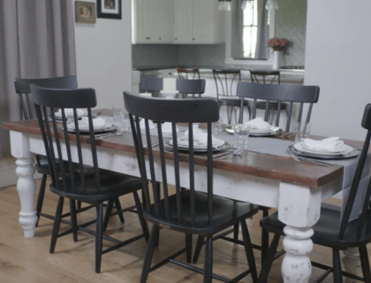 How to Make a Farmhouse Table | Video