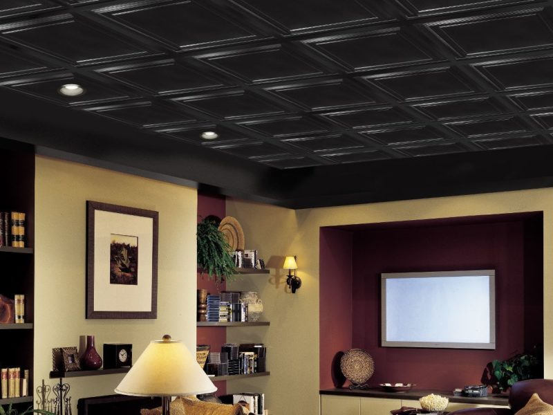 Installing Faux Tin Ceiling Tiles Diy