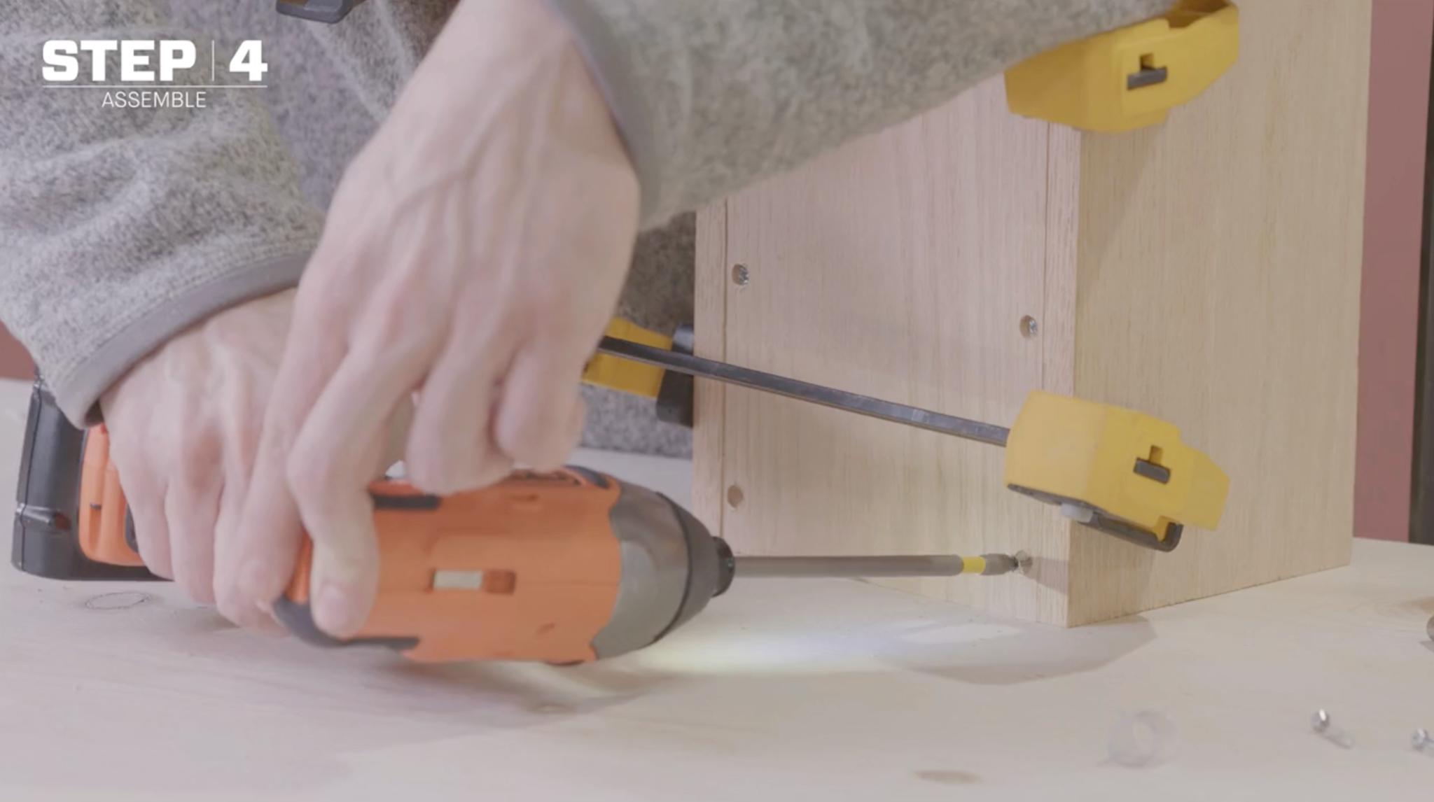 Assembling your DIY liquor dispenser