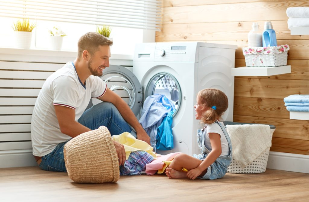 laundry room, safety