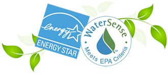 Energy Star and WaterSense seals