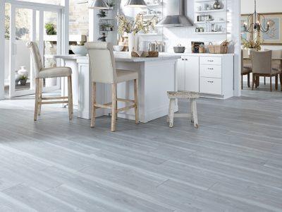 Waterproof flooring in kitchen