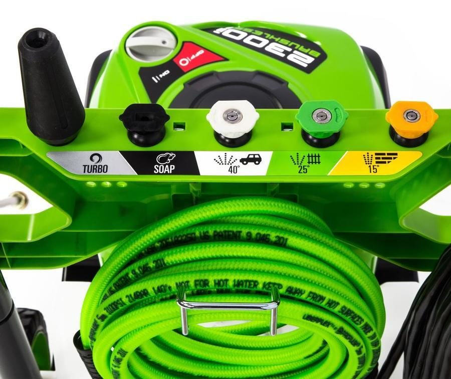 Greenworks pressure washer tips and accessories