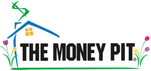 The Money Pit house logo