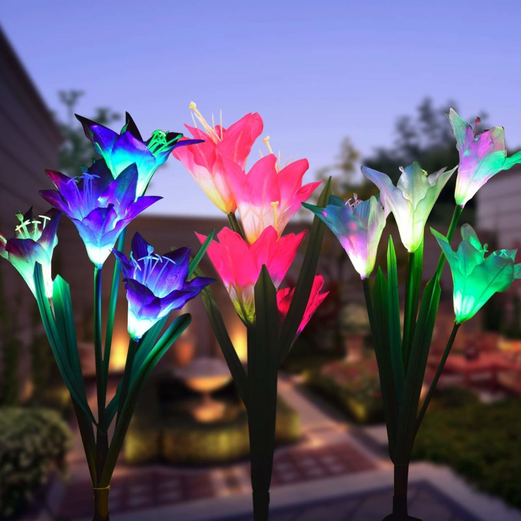 Decorative solar lights