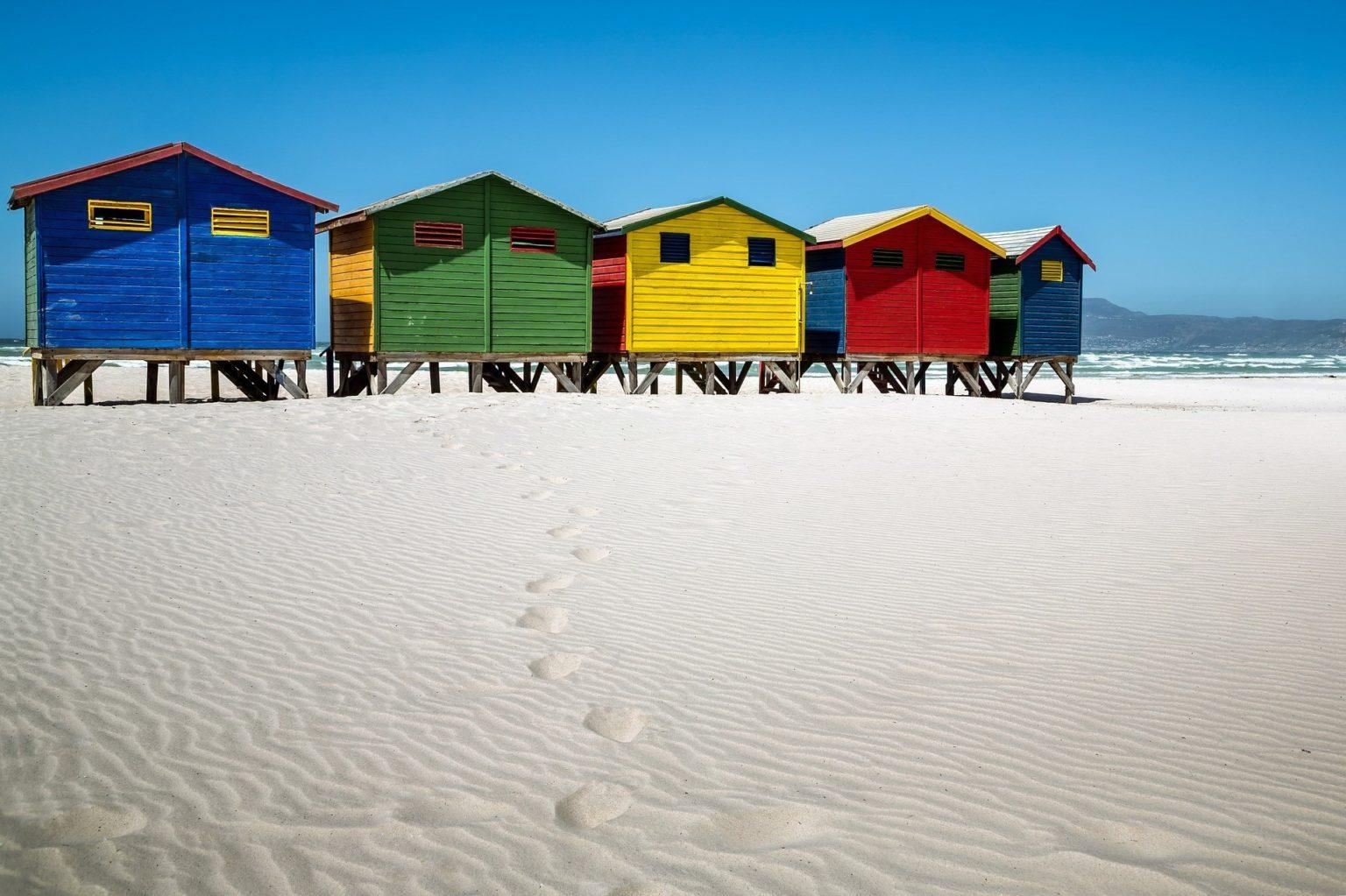 Summer house on beach
