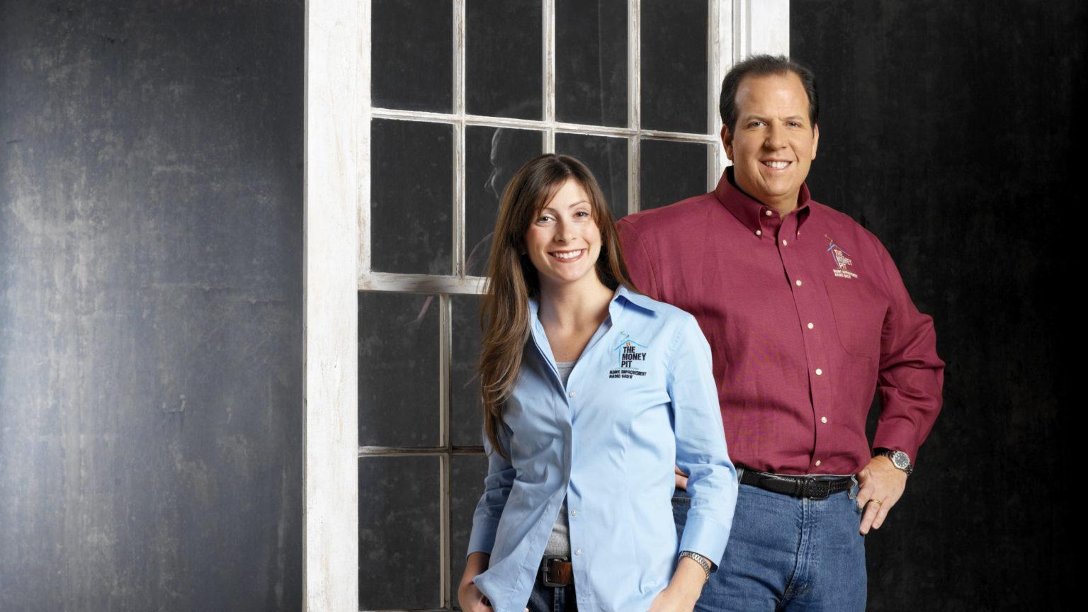 Leslie Segrete and Tom Kraeutler