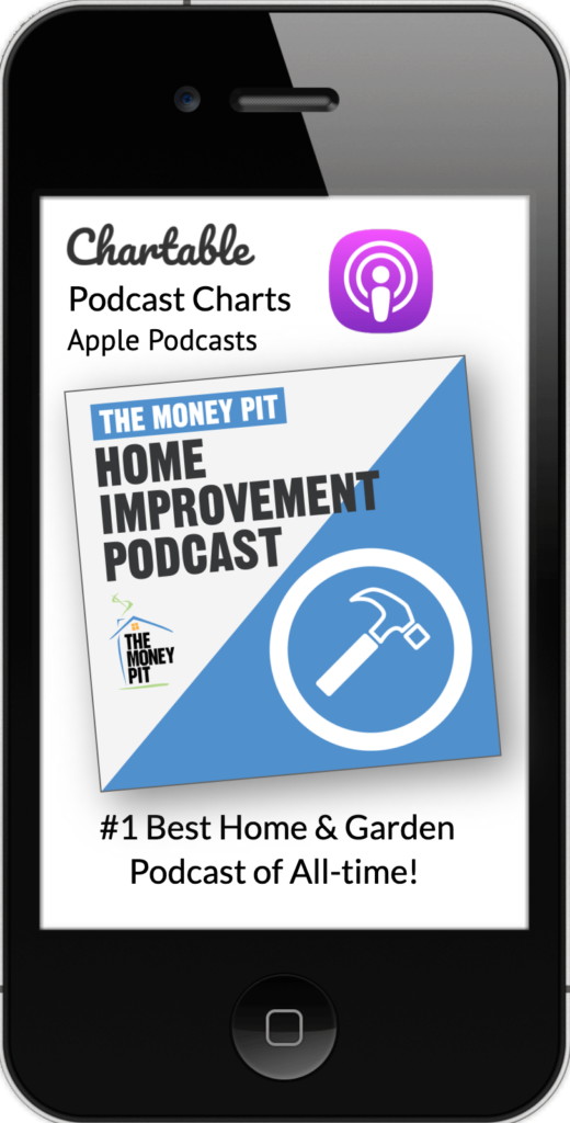 The Money Pit Podcast on Apple Charts