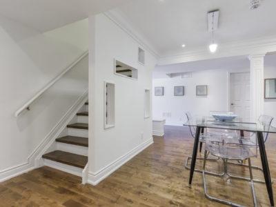 Modern basement floor