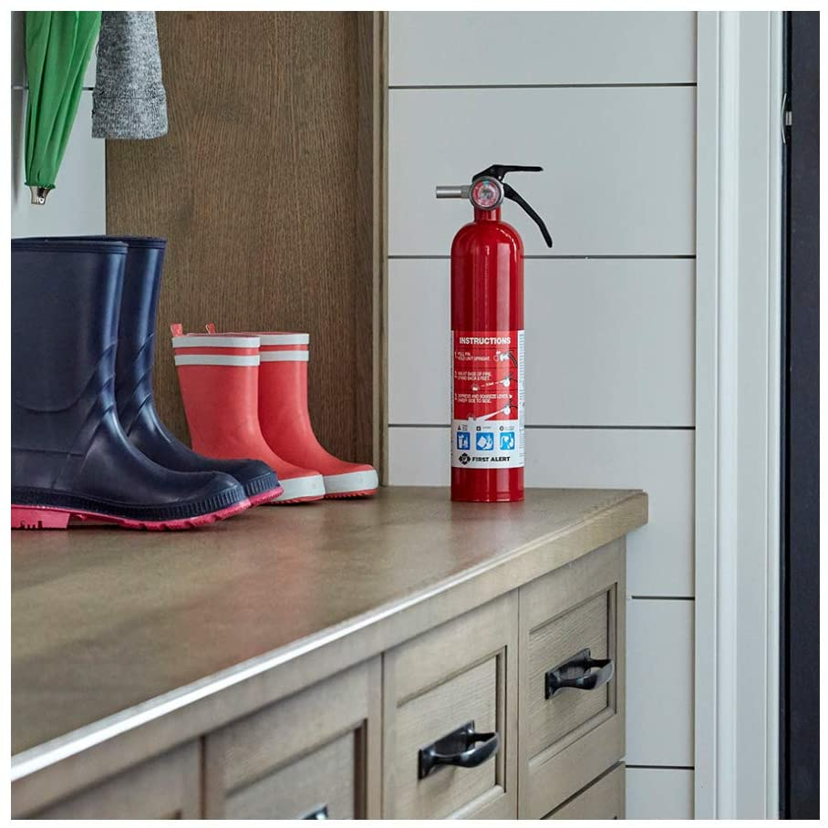 Fire Extinguisher in Laundry Room