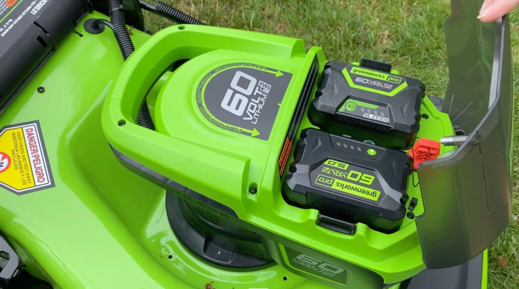 Greenworks Dual Mower Battery