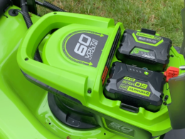 Greenworks Dual Mower Battery