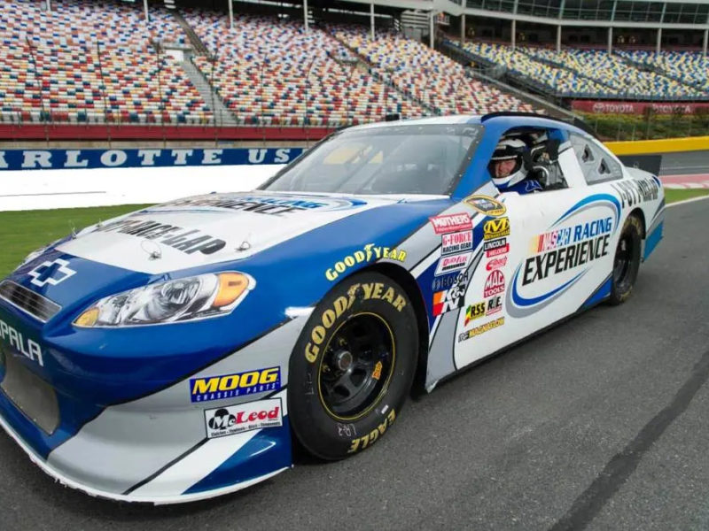 NASCAR Racing Experience on track