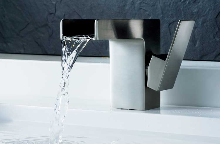 Modern bath faucet from Riverbend Home