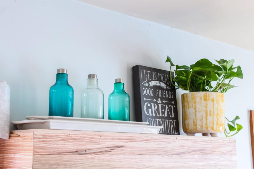 Mantel Shelf on Wall