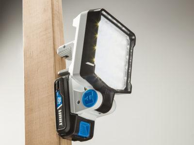 HART 20-Volt Cordless LED Work Light Kit
