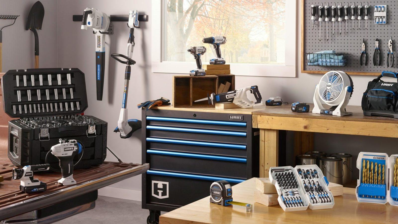 HART Tools in workshop